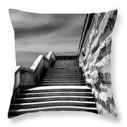 Biltmore Stairs Asheville Nc Throw Pillow