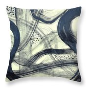 Biological Rhythms Throw Pillow
