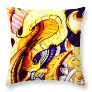 Bioorganic 1 Throw Pillow