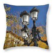 Bip Rambla Streetlight Throw Pillow