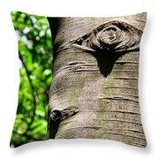Birch Man Throw Pillow