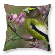 Bird 5 Throw Pillow