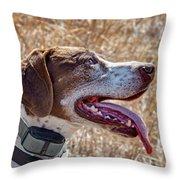 Bird Dog - Profile Throw Pillow