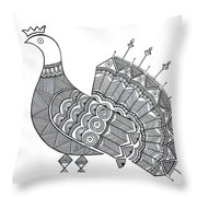 Bird Dove Throw Pillow by MGL Meiklejohn Graphics Licensing