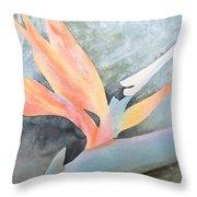 Bird Of Paradise 2 Throw Pillow