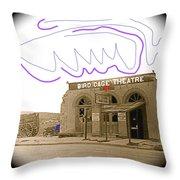 Birdcage Theater Number 1 Tombstone Arizona C.1934-2008 Throw Pillow