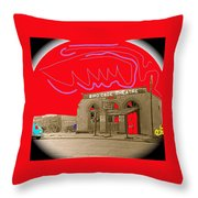 Birdcage Theater  Tombstone Arizona Ca.1934 Throw Pillow