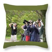 Birders Throw Pillow