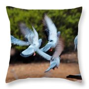 Birds In Flight 030515aa Throw Pillow