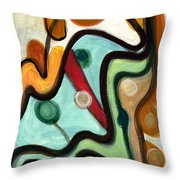 Birds In Flight Throw Pillow