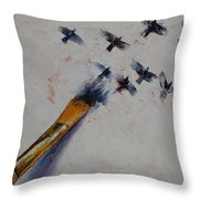 Birds Throw Pillow