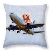 Bird's Point Of View Throw Pillow