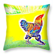 Who Is Afraid Of The Birdy Boss  Throw Pillow