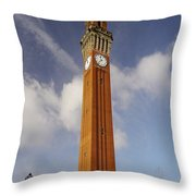 Birmingham University Throw Pillow