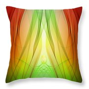 Birth By Sleep Throw Pillow by Angelina Tamez