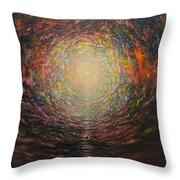 Birth Canal Throw Pillow