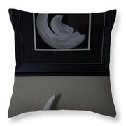 Birth Of A New Moon Collaboration Throw Pillow