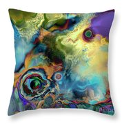 Birth Of A Star Throw Pillow by Ursula Freer