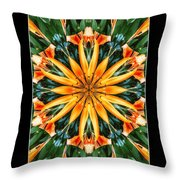 Birthday Lily For Erin Throw Pillow