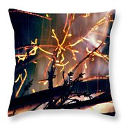 Birthed From Fire Throw Pillow by Rory Sagner
