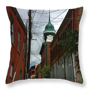 Bisbee Arizona Throw Pillow