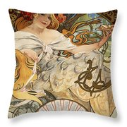 Biscuits Lefevre-utile Throw Pillow