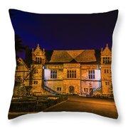 Bishops Palace Throw Pillow