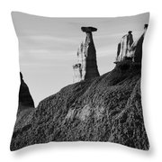 Bisti Land Form 1 Throw Pillow