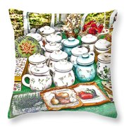 Bits Of Slovak Culture 2 Throw Pillow