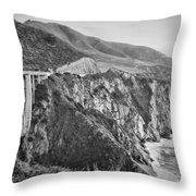Bixby Overlook Throw Pillow by Heather Applegate