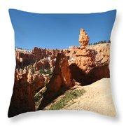 Bizarre Shapes - Bryce Canyon Throw Pillow
