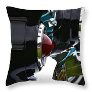Black 1955 Thunderbird Throw Pillow