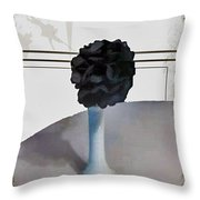 Black And Framed Throw Pillow