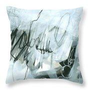 Black And White #5 Throw Pillow