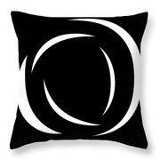 Black And White Art - 104 Throw Pillow