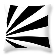 Black And White Art - 142 Throw Pillow