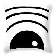 Black And White Art 167 Throw Pillow