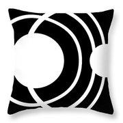Black And White Art 170 Throw Pillow
