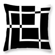 Black And White Art 172 Throw Pillow