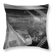 Black And White Moments Throw Pillow