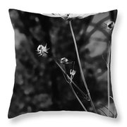 Black And White Together Throw Pillow