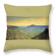 Black Butte From White Rock Throw Pillow