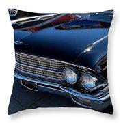 Black Caddy Throw Pillow