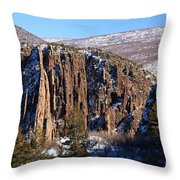 Black Canyon Butte Throw Pillow
