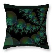 Black Caviar Throw Pillow