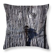 Black Darter Throw Pillow