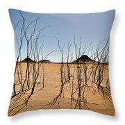 Black Desert Throw Pillow