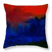 Black Forest #2 Throw Pillow