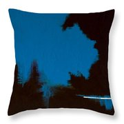 Black Forest #3 Throw Pillow