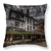 Black  Forest Hospital Throw Pillow